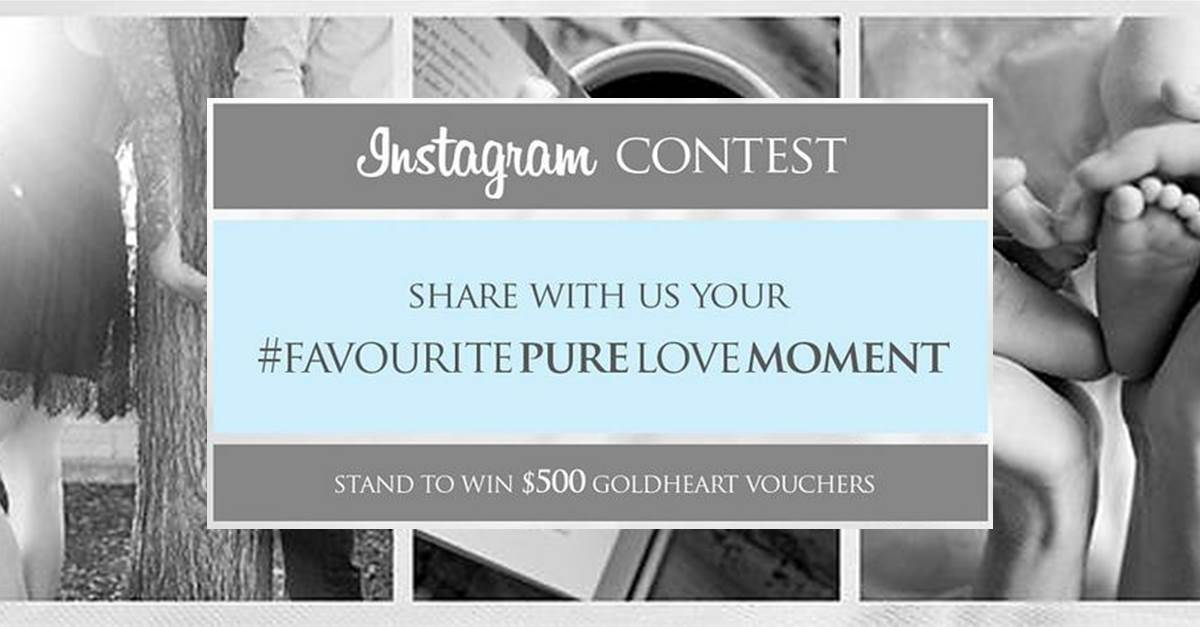 Goldheart Jewelry Instagram Contest