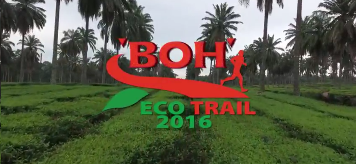 BOH Tea Malaysia captures the moments of the Eco Trail Run 2016 through video production, raising buzz and awareness on prevention of forest fires