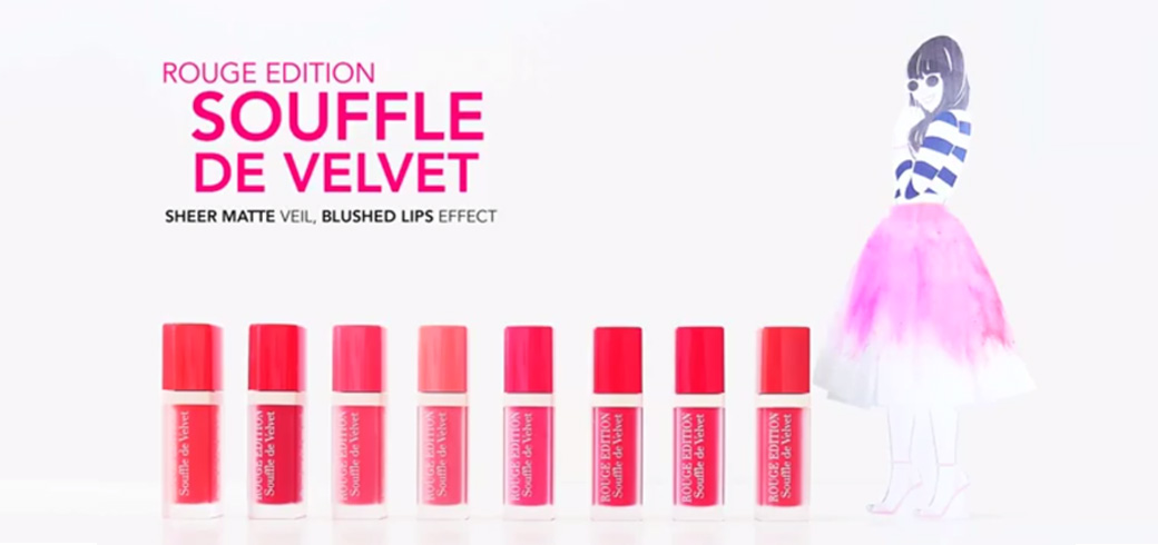 Bourjois Singapore launches a new stop-motion video and contest, as part of their content marketing campaign to promote their Souffle de Velvet lipsticks.