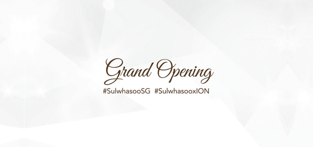With the help of a digital marketing agency, Sulwashoo Singapore broadcasts their ION Orchard boutique's grand opening using Facebook Live.