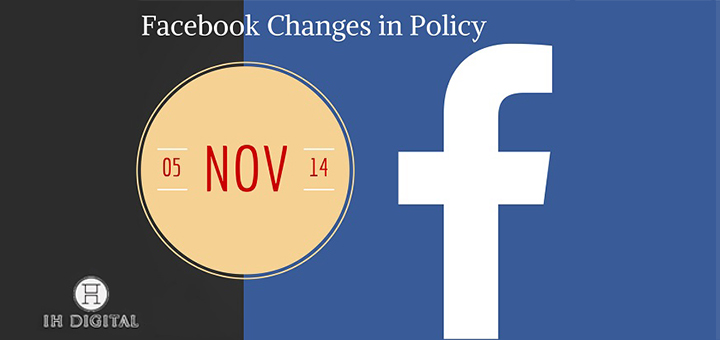 A new Facebook policy that will effect how application functions will take place on Nov.05.14. Read on to find out what to expect with these changes.