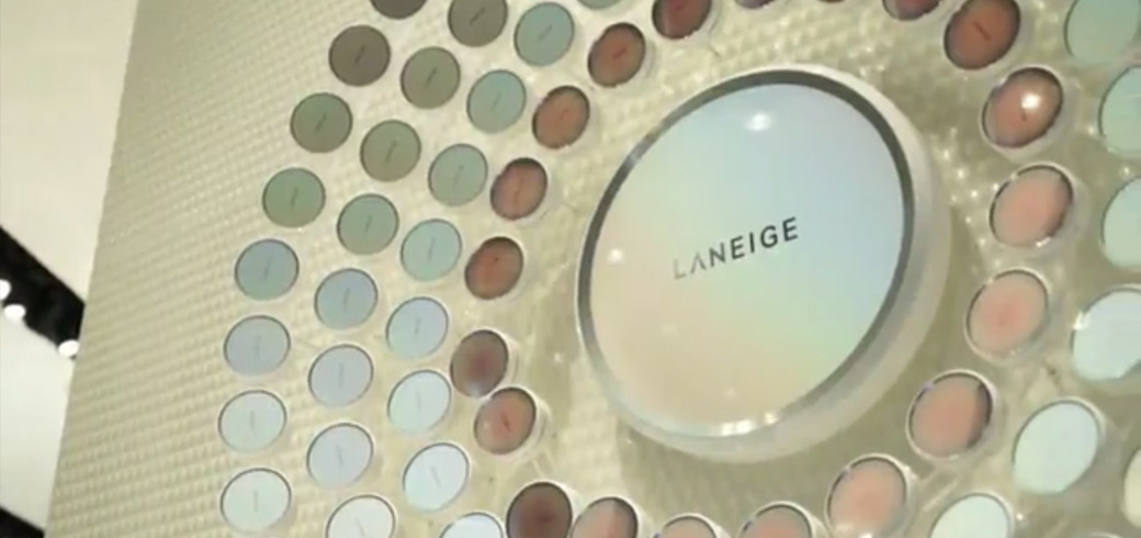 LANEIGE Malaysia shares a Facebook Live Streaming video tour of their newly-opened Pavilion Elite Boutique for social media marketing.