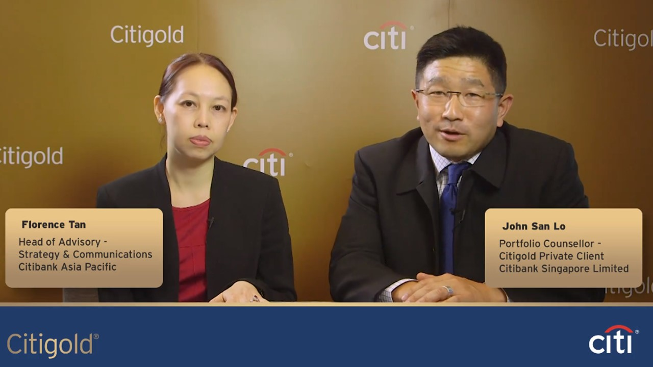 Digital Marketing: Citibank Singapore Engage Using Interview Video